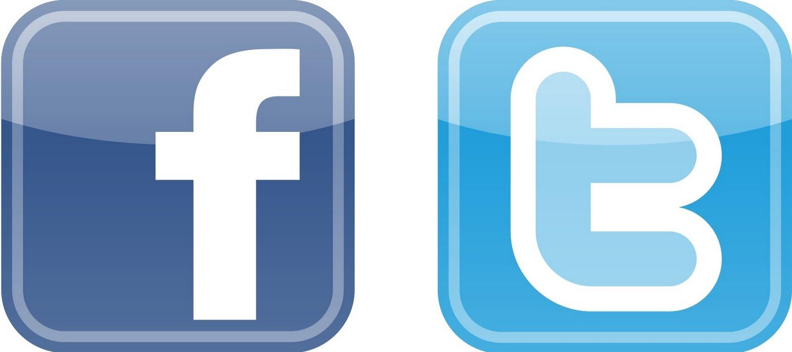 facebook.twitter button