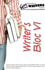 Writer's Bloc VI