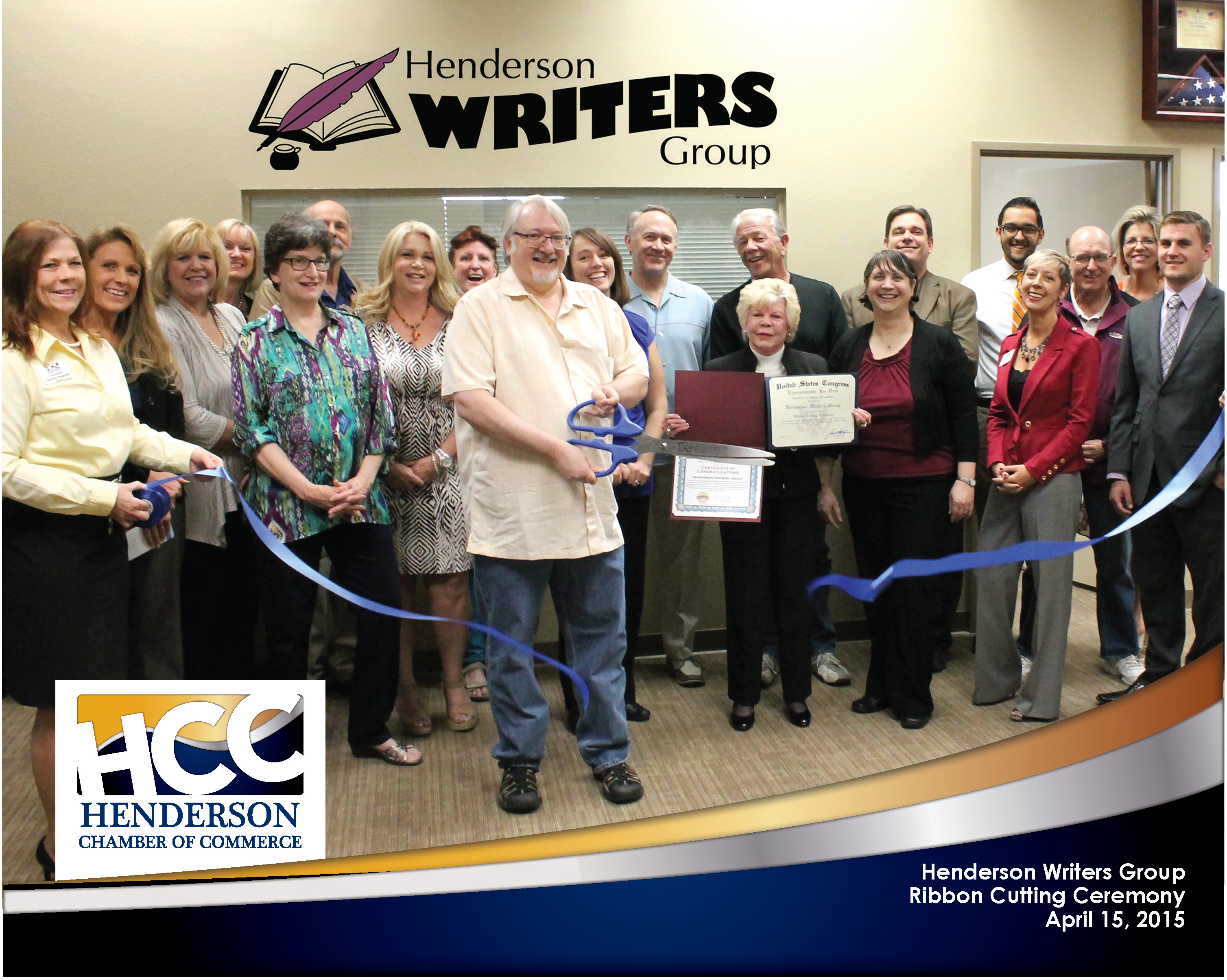 RC Henderson Writers Group