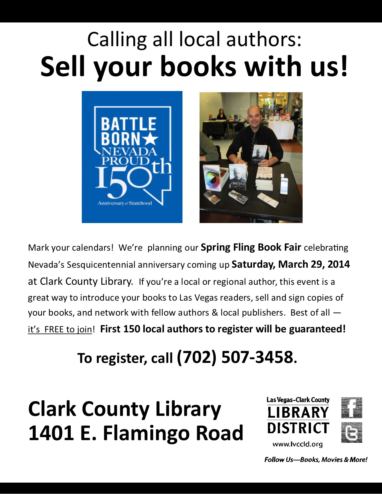 5th Annual Spring Fling Book Fair