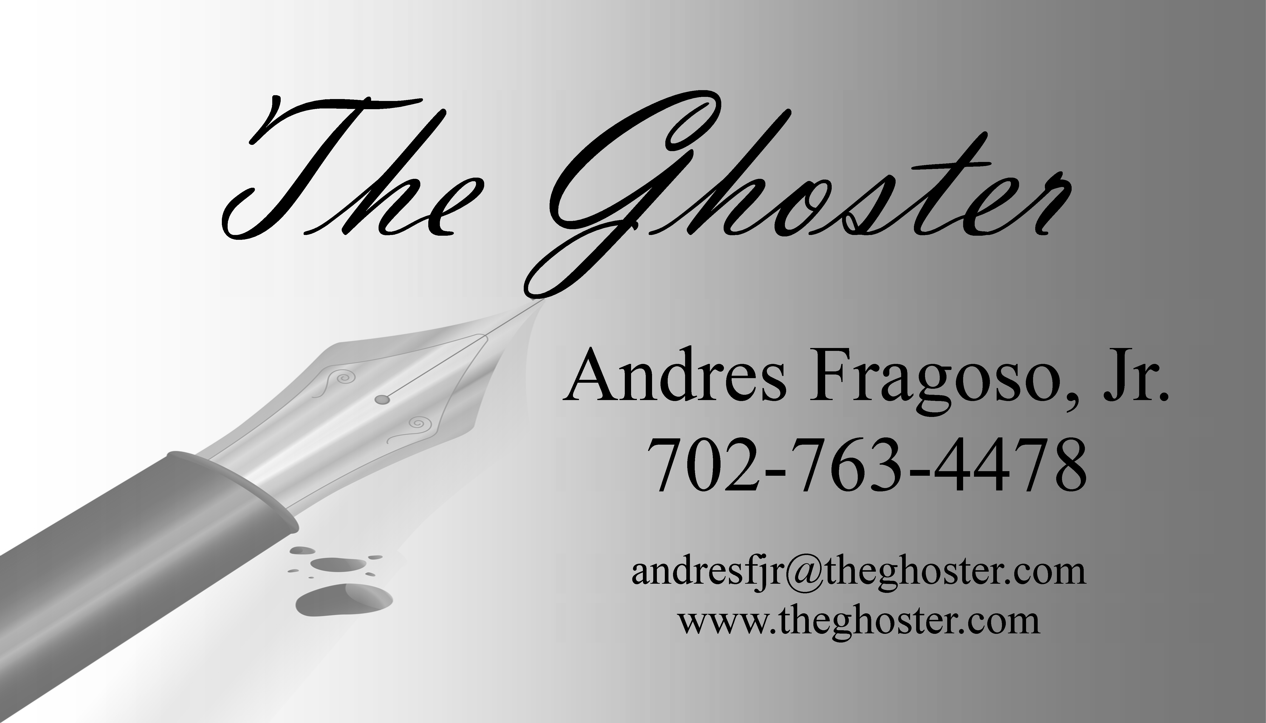 The Ghoster