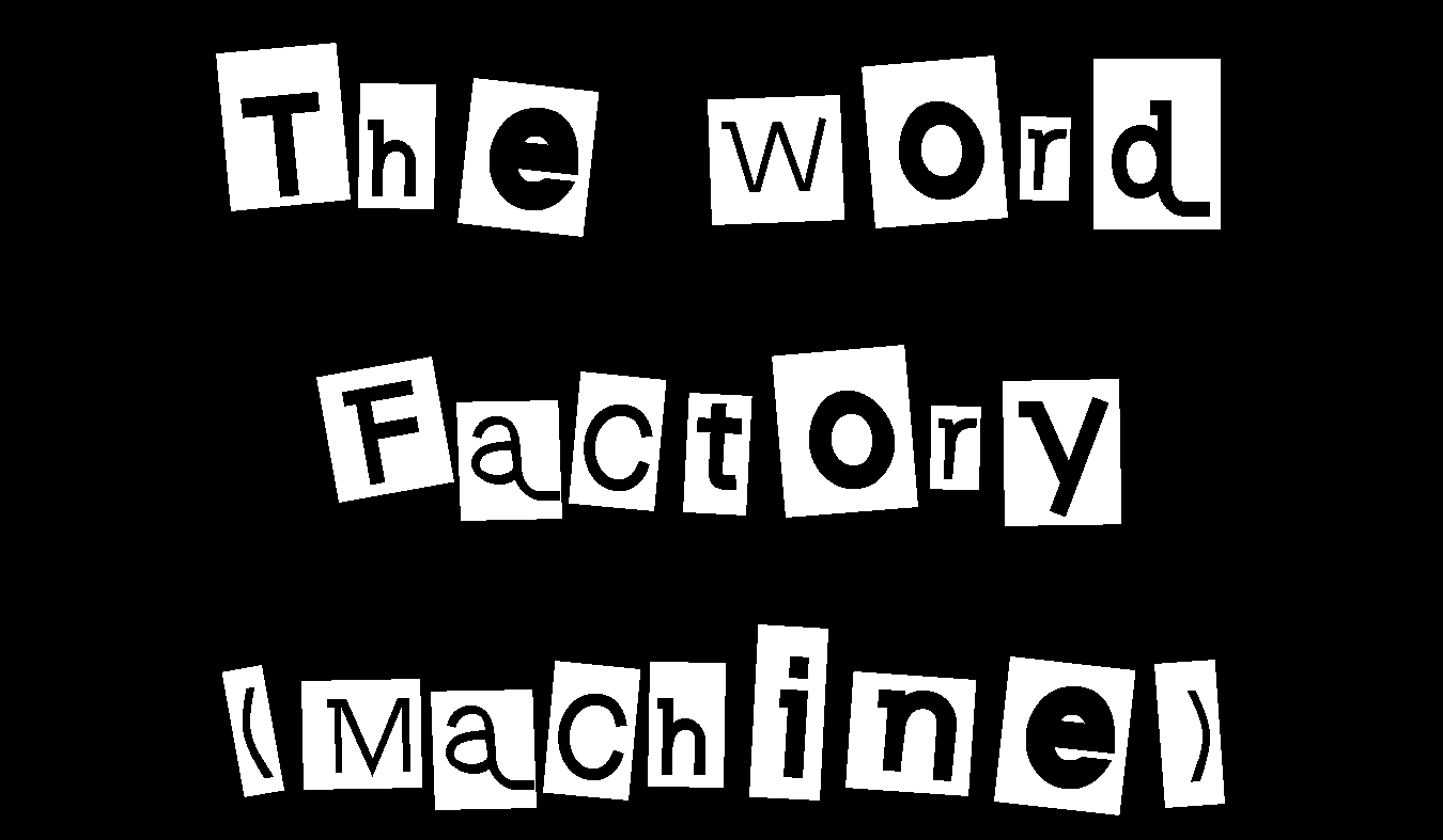 Guess Who Wrote This – The Word Factory