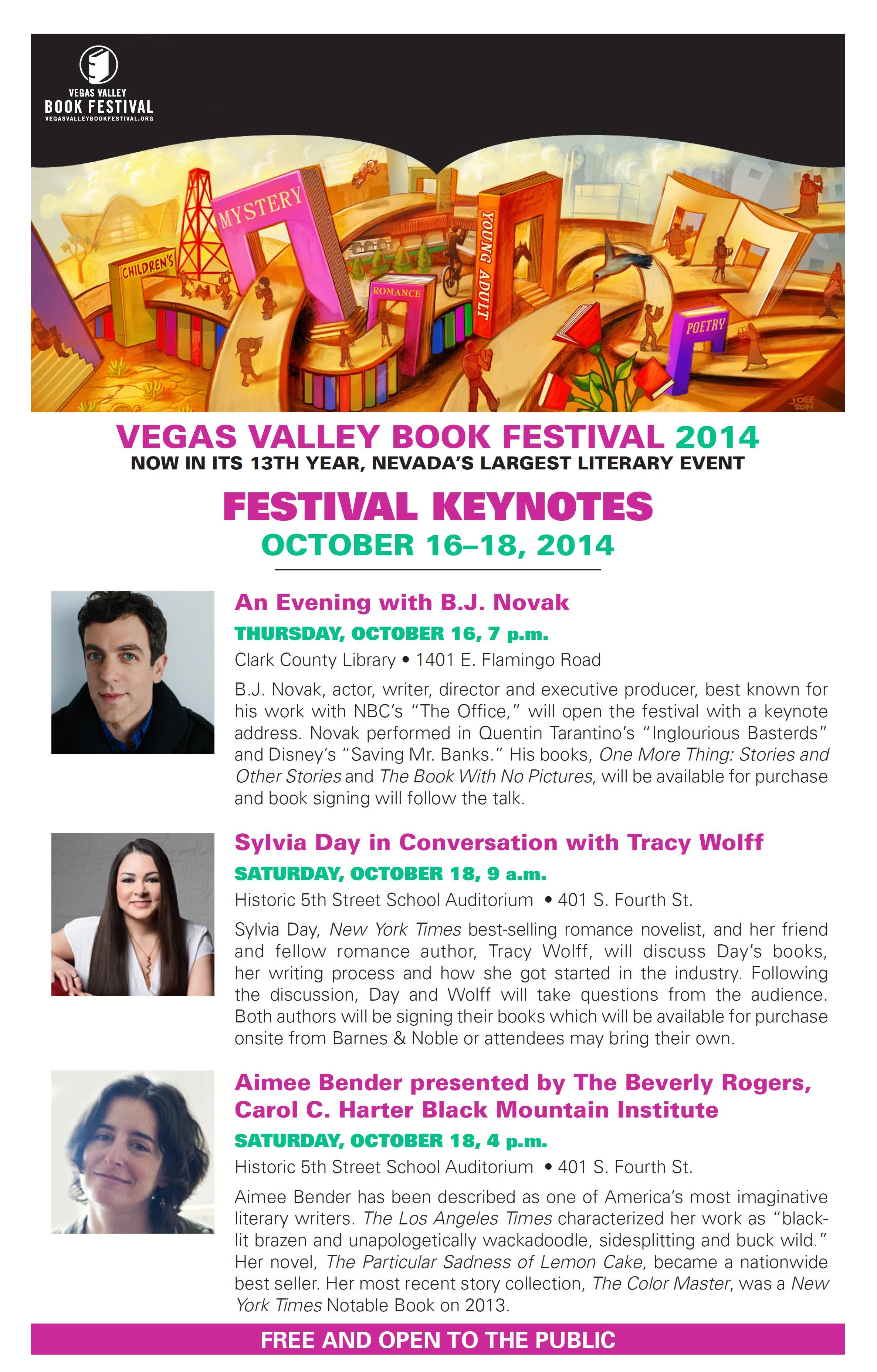VEGAS VALLEY BOOK FESTIVAL 2014