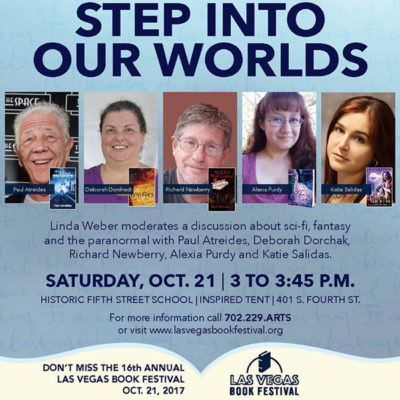 Step Into Our Worlds: Las Vegas Book Festival Panel